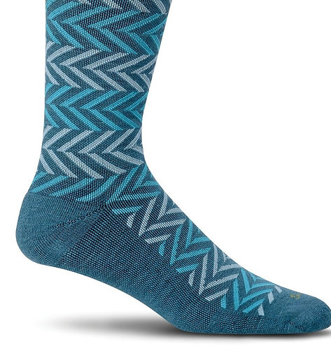 SockWell Women's Chevron Compression Socks