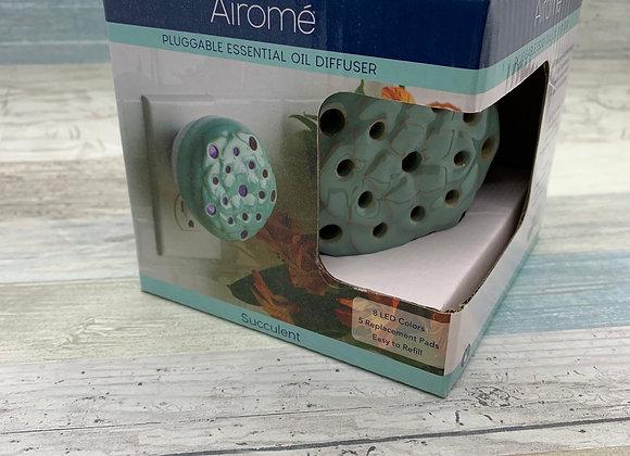 Airome Pluggable Essential Oil Diffuser - Succulent