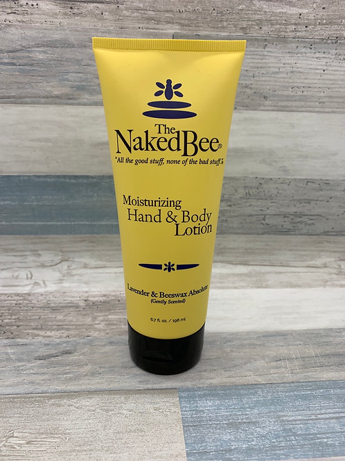 The Naked Bee - Lavender and Beeswax Moisturizing Hand & Body Lotion