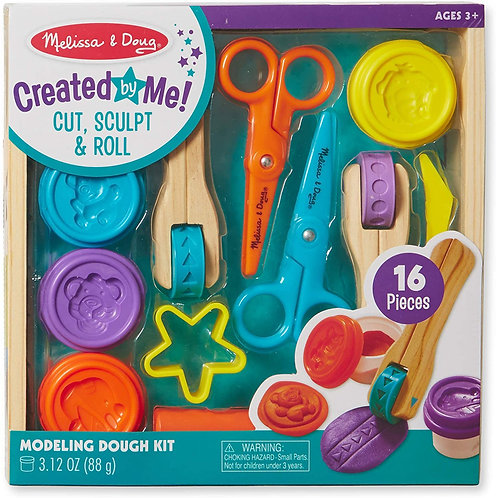 Melissa & Doug Cut, Sculpt & Roll Clay Playset