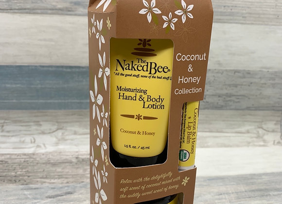 The Naked Bee - Coconut & Honey Gift Set