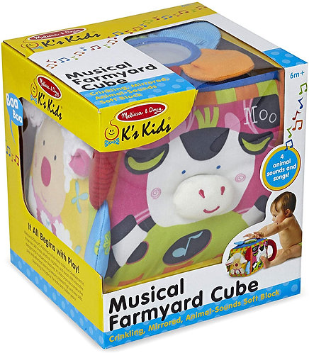Melissa & Doug Musical Farm Cube