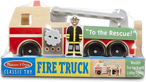 Melissa & Doug Classic Toy Fire Truck