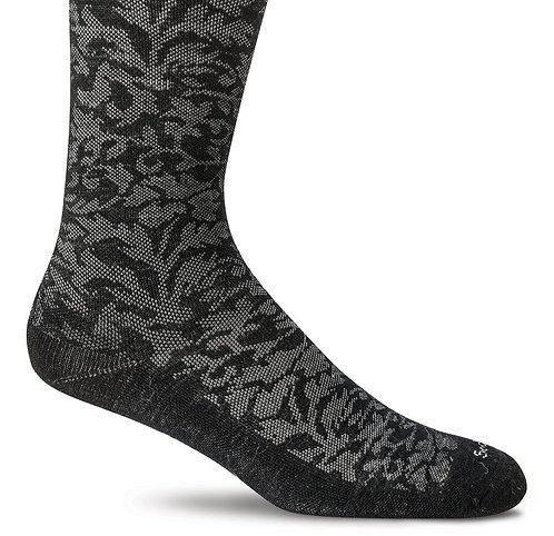 SockWell Women's Damask Compression Socks