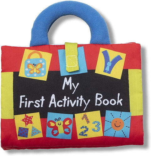 Melissa & Doug K'S Kids My First Activity Book 8-Page Soft Book