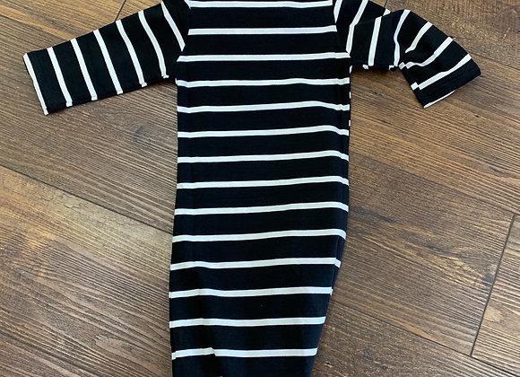 Striped Footie Pajamas