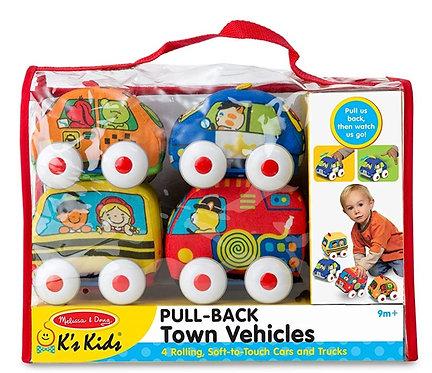 Melissa & Doug Pull Back Vehicles