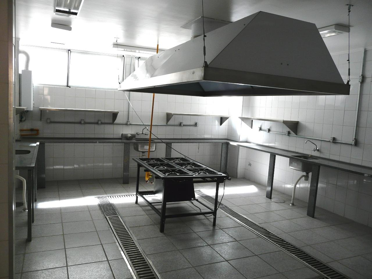 Cozinha Rest. da Defensoria Pública