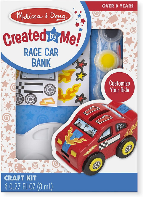 Melissa & Doug Created by Me Race Car Bank