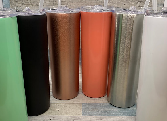 Stainless Steel Insulated Tumbler with Straw