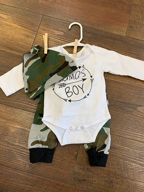 Mama's Boy Onsie Outfit