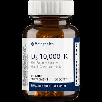 Metagenics Vitamin D3 10,000 IU + K2