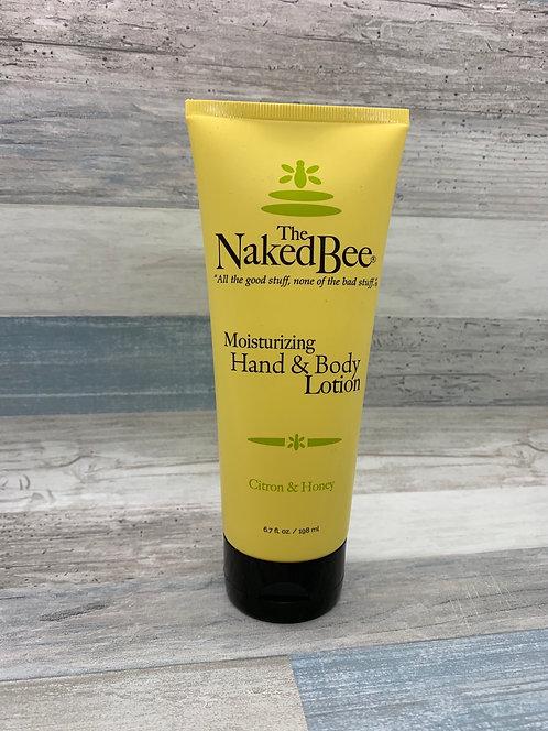 The Naked Bee - Citron & Honey Moisturizing Hand & Body Lotion