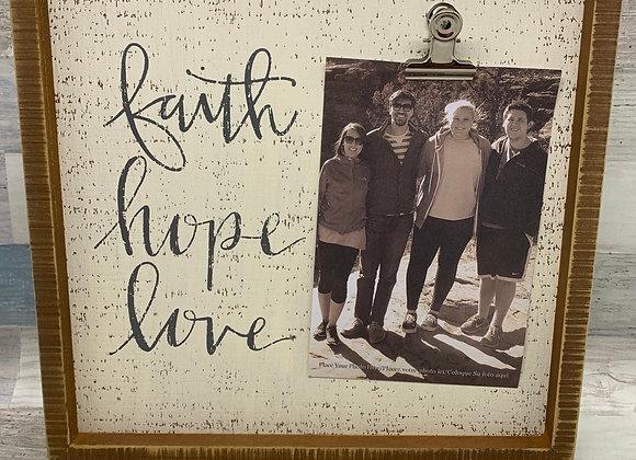 Faith, Hope Love