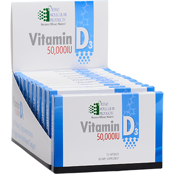 Ortho Molecular - Vitamin D3 50,000 IU Blister Pack