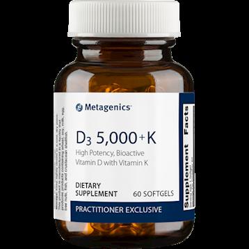 Metagenics Vitamin D3 5,000 IU + K2