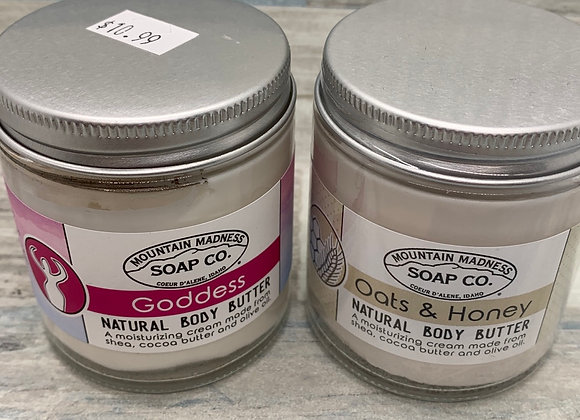 Mountain Madness Soap Company - Natural Body Butter