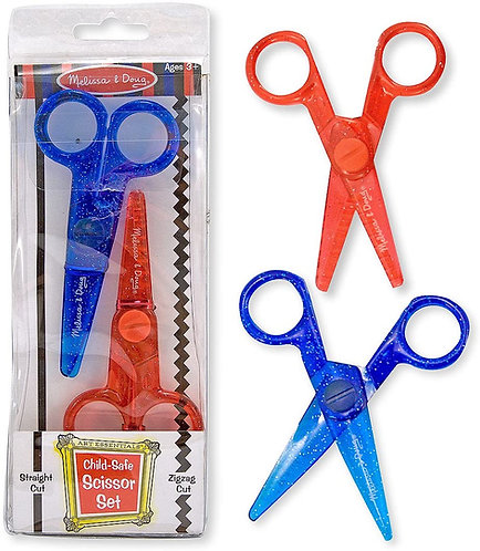 Melissa & Doug Child Safe Scissor Set