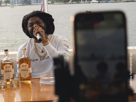 Fly Stoner Motive live streams listening party from yacht