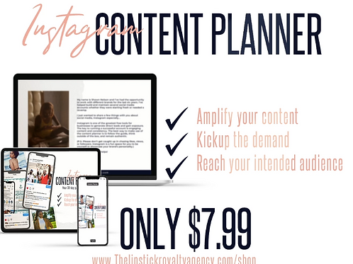 30-Day IG Content Planner