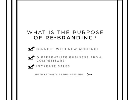 The 411 on Re-Branding