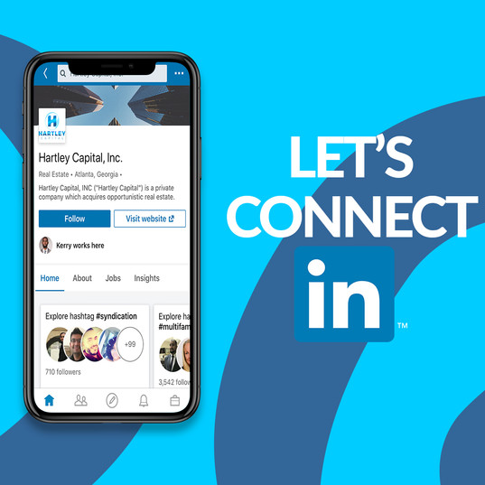 Hartley Capital Social Media Flyer