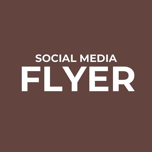 Branding: Social Media Flyer