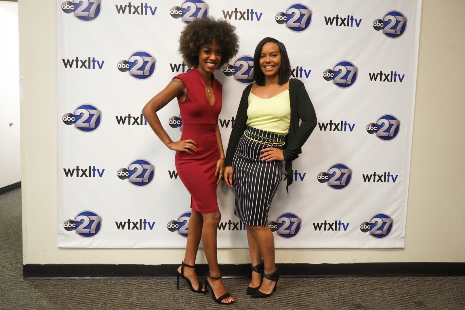 Shawn Nelson and Ayla Madison at WTXL