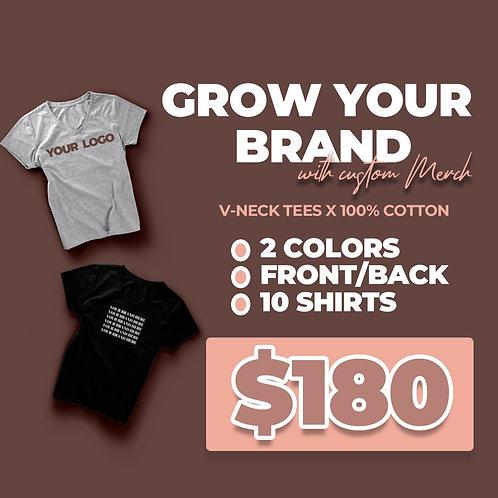 Custom t-shirt sale