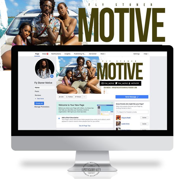 Motive header design