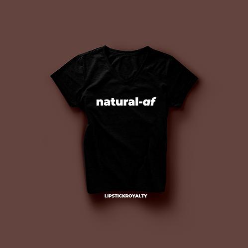 Natural-Af Tee