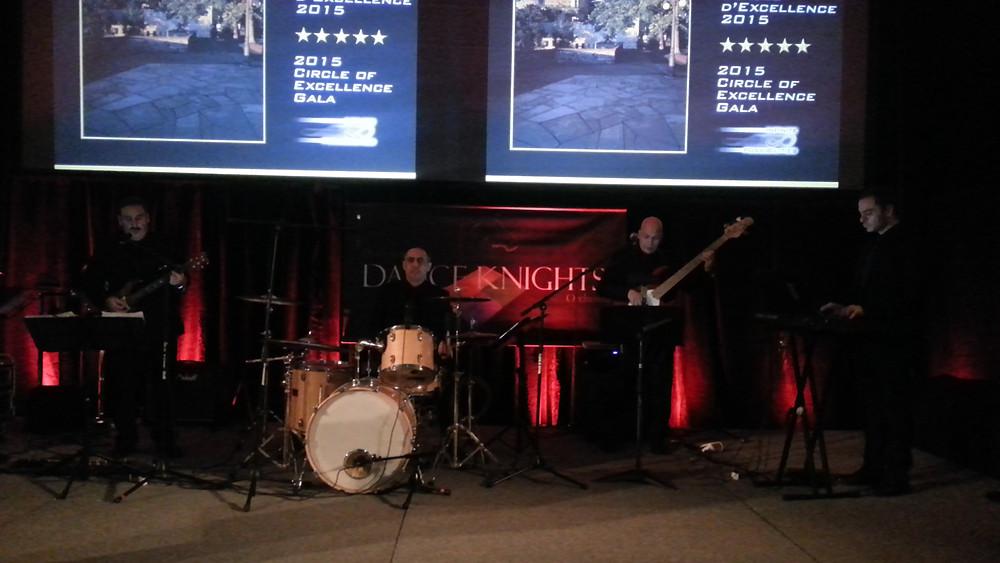 Band corporatif Dance Knights pour soirée gala d'excellence