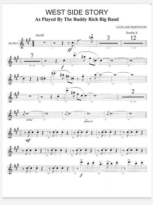West Side Story - Big Band Charts & Sheet Music