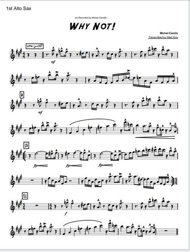 Big Band Charts & Sheet Music | Drumless Play along tracks
