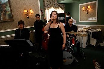 Orchestre dans un restaurant