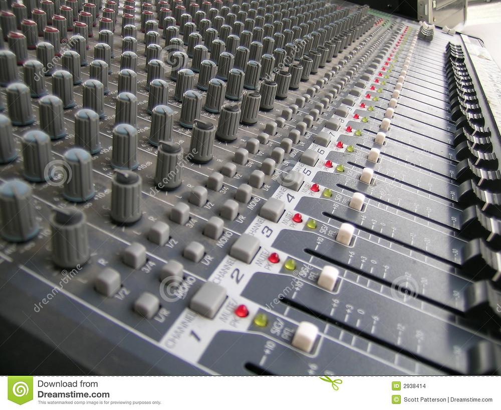 Groupe de musique avec sonorisation