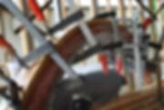 Ben Thomas spiral staircase handrail