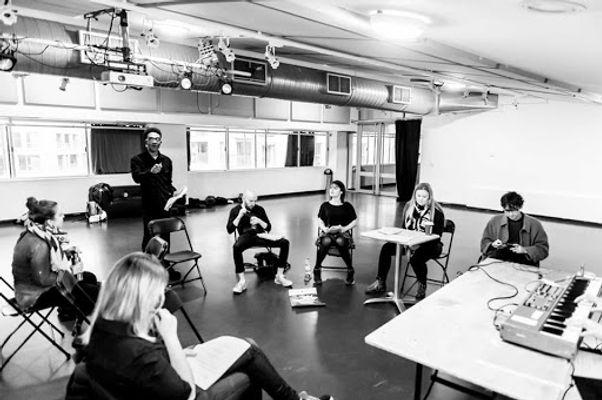 Hannah Elsy Productions Rehearsal Lidia