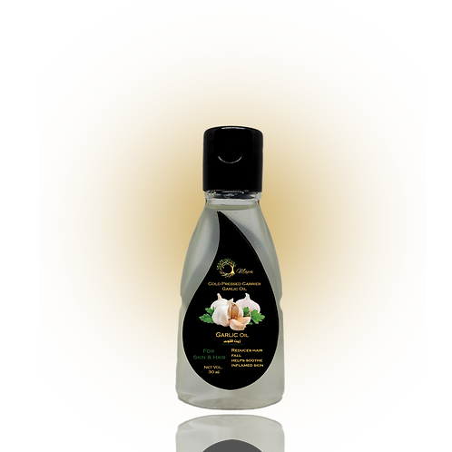 Garlic Oil , Organic, 50ml