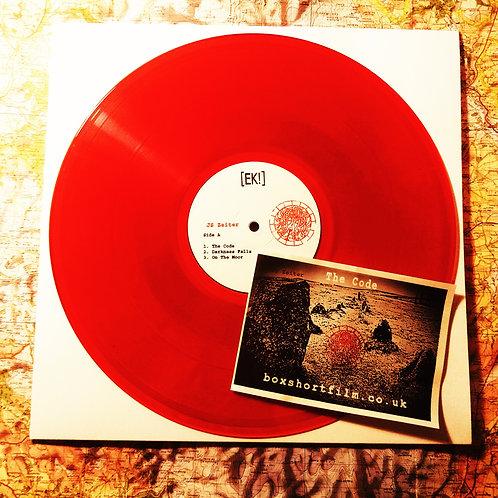 "'BOX EP by JS Zeiter - LTD EDITION 12"" ON RED VINYL"