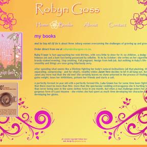 Robyn Goss author site