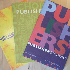 Exclusive Books Publisher's Choice catalogues