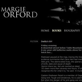 Margie Orford author site
