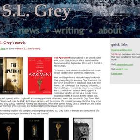 S.L. Grey author website
