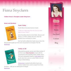 Fiona Snyckers author site