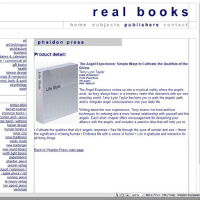 Real Books PHP prototype