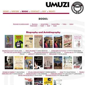 Umuzi publisher website