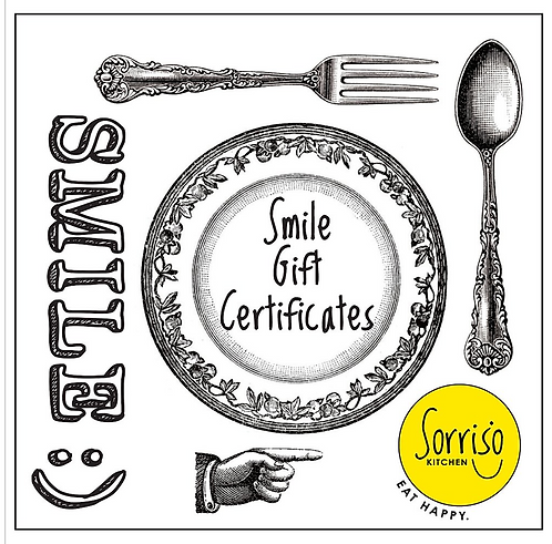 Smile Gift Certificate