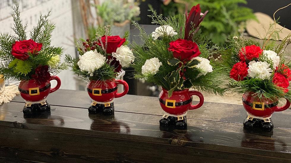 Santa's Little Helper Bouquets
