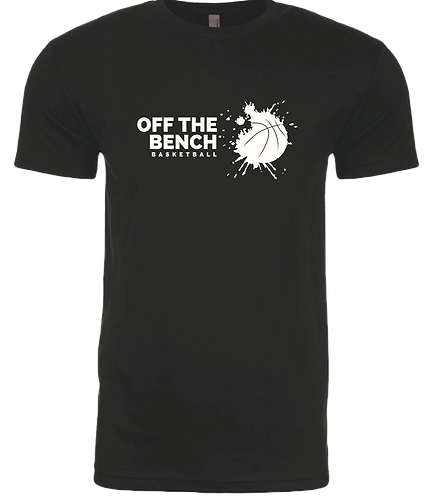 Off The Bench Basketball Performance T-Shirt - Black